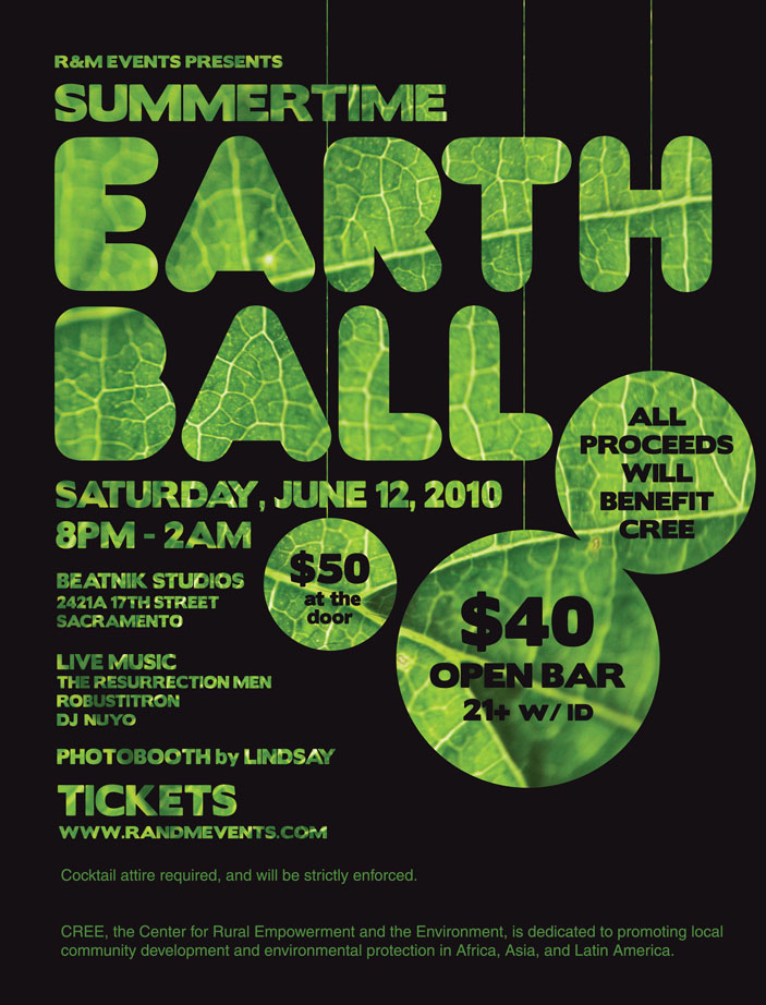 CREE Summertime Earth Ball