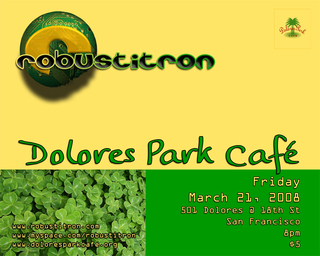 dolores park cafe e-flyer
