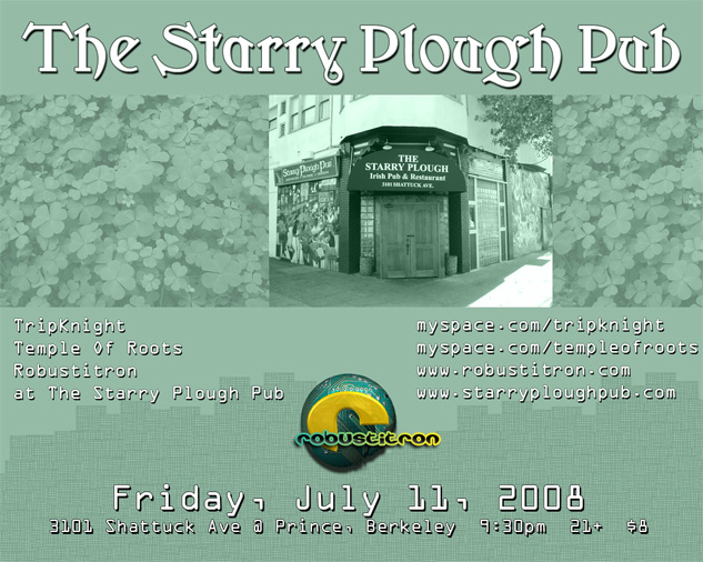 starry plough e-flyer